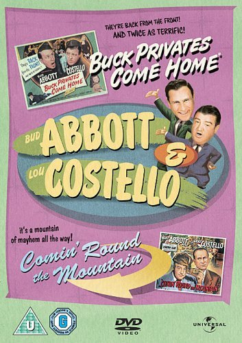 Abbott and Costello - Buck Privates Come Home/ Comin' Round The Mountain [Import anglais]