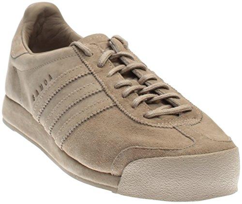 Adidas Samoa Vintage Retro Loopschoenen Pantone Pantone Gebroken Wit B27735 Pantone Bruin