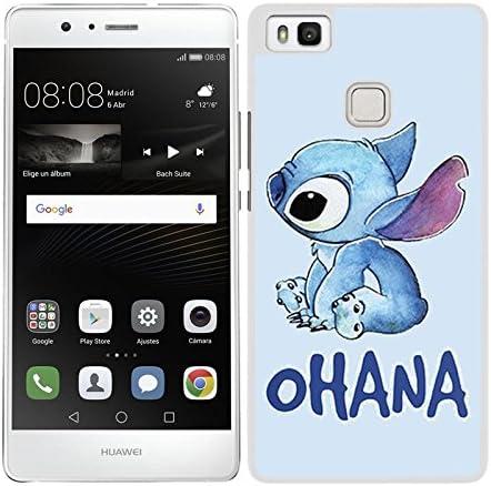 Hard Case Cover for Huawei P9 Lite Stitch Ohana Edge: Amazon.co.uk ...