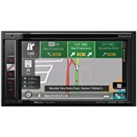 Pioneer AVIC-6100NEX In-Dash Navigation AV Receiver with 6.2 WVGA Touchscreen Display