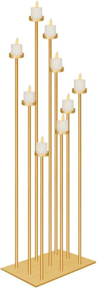 Amazon Com Smtyle Diy 9 Candelabra Floor 70 Inch Tall Candle