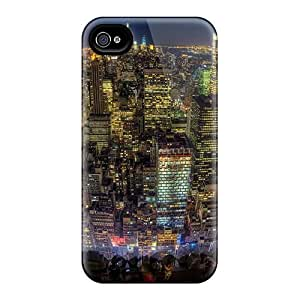 Hot Fanatstic View Of Nyc From An Observation Deck First Grade Tpu Phone Case For iphone 6 Case Cover