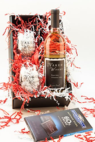 All My Love Willamette Valley Pinot Gris Wine Gift Set, 1 x 750 mL