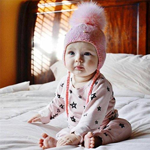 50% de descuento Koly Sombrero de Earbud de la pelota de la muchacha del  bebé 1118f7e88b7