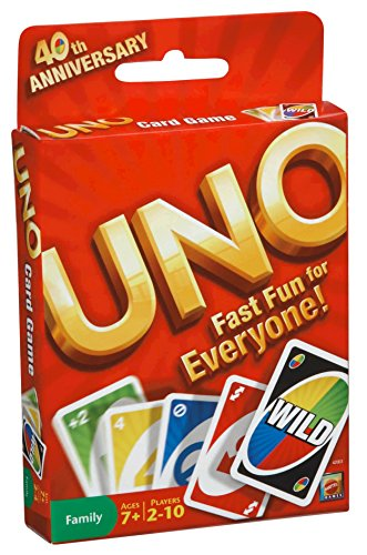 Price comparison product image Mattel Games 42003 Uno® Card Game