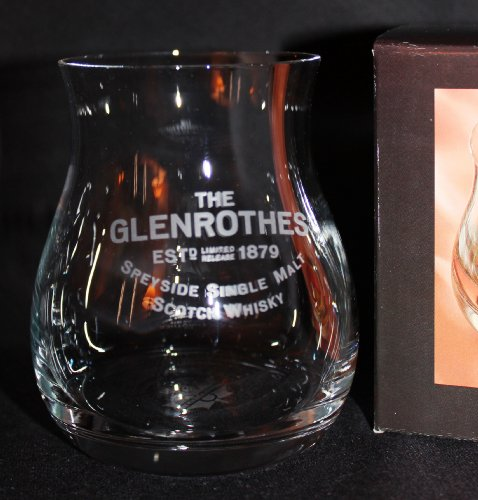 GLEN ROTHES SINGLE MALT SCOTCH GLENCAIRN CANADIAN WHISKY GLASS