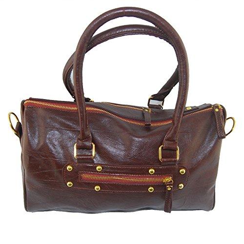 Jambo Pu Leather Hobo Tote Shoulder Shopper Bag Women Girl Lady Handbag Delivered From Us
