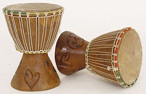 10 12 small handmade djembe drum traditional african musical instrument buy online in uae. Black Bedroom Furniture Sets. Home Design Ideas