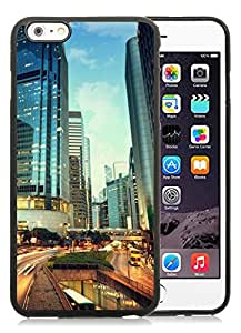 City View iPhone 6 Plus 5.5 Black TPU Case Cover