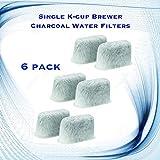 keurig b40 brewing system - Single K-cup Brewer Charcoal Water Filters for Keurig B75 - 6 Pack
