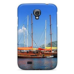 Premium Old Ship At Sea Heavy-duty Protection Case For Galaxy S4