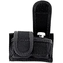 Uncle Mike's Off-Duty and Concealment Accessory Kodra Double Hook and Loop Universal Speedloader Case, Black