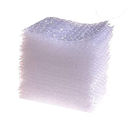 Osun 100 pcs transparente burbuja bolsas doble pared cojín ...
