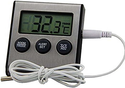 Hot Loop Digital Termómetro frigorífico congelador Termómetro con ...