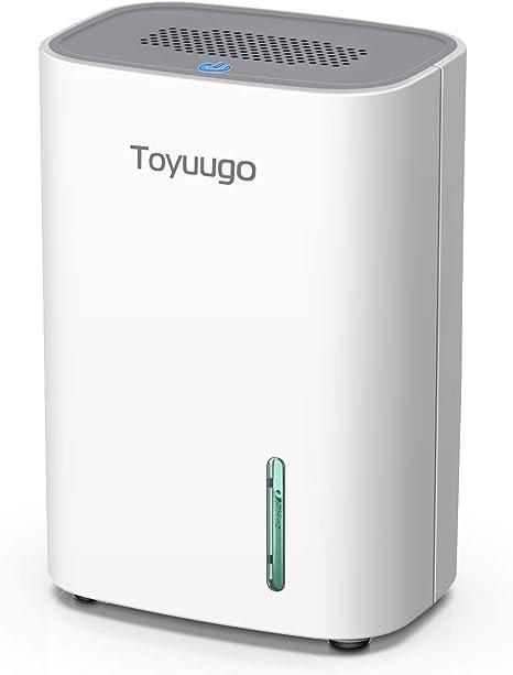 Toyuugo Luftentfeuchter 800ml Dehumidifier Mit 2 Modi Und Auto Off Elektrisch Raumentfeuchter Fur Wohnung Badezimmer Buro Garderobe Amazon De Baumarkt