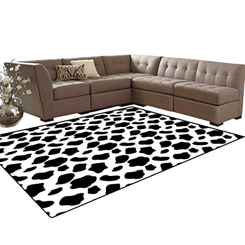 Cow Print Door Mats for Inside Cattle Skin Pattern for sale  Delivered anywhere in Canada