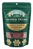 Shaded Trails All Natural Crunchy Dog Treats 8 oz – Vegan & Grain Free (Peanut Butter & Banana) For Sale