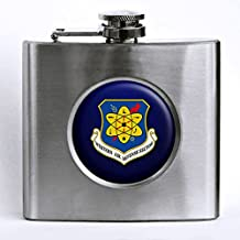 Premium Stainless Steel Hip Flask - US Air Force Western Air Defense Sector (WADS)
