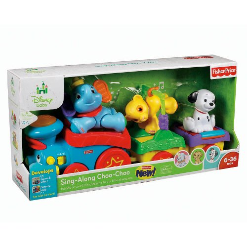 Fisher-Price Disney Baby Sing Along Choo Choo Train (Age: 6 months - 3 years) by Fisher-Price