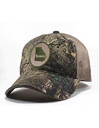 Men's Georgia Home State Realtree Camo Trucker Hat