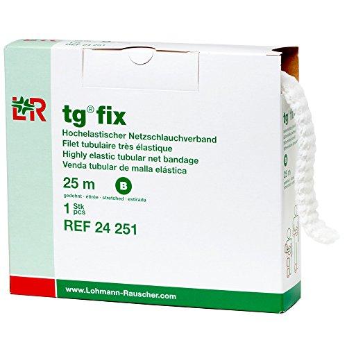 (tg Fix Net Tubular Bandage, Elastic Net Wound Dressing, Bandage Retainer for Small Extremities, Size B (40.0 cm When Stretched x 2.5)
