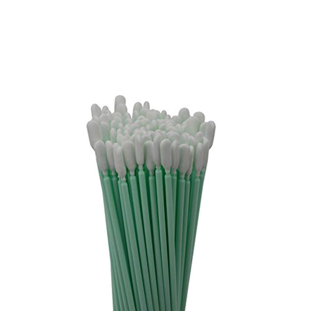 100pc 6.3'' Double Layer Polyester Cleaning Swab Sticks for Solvent Format Inkjet Printer Roland Optical Equipment by INCHOO (Image #4)