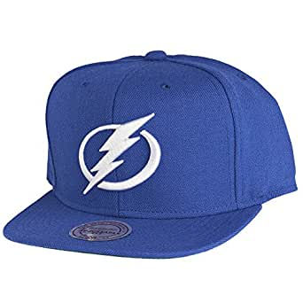 Mitchell & Ness Tampa Bay Lightning Wool Solid Snapback Cap NT80Z Kappe Basecap