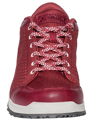 Cluster Women's Scarpe VAUDE Levtura Rosso Red 928 Arrampicata Donna Basse Ubn da HZvv6S
