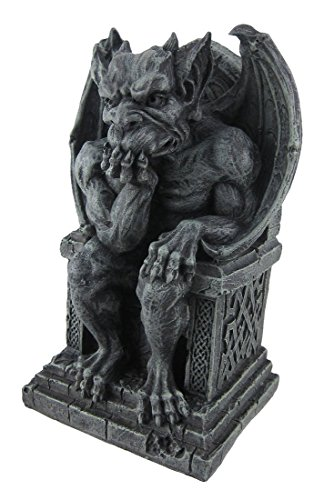 (THE THINKER Medieval Gargoyle Statue Thinking)