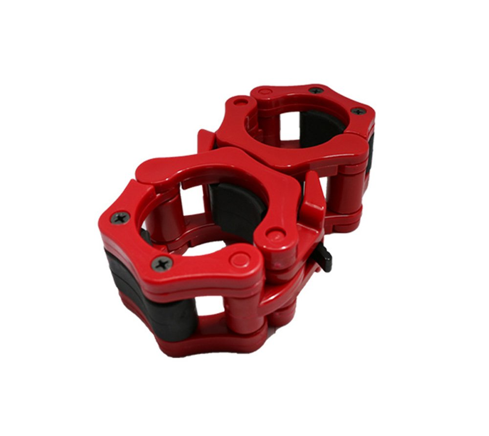 Quick Release Pair of Barbell Clamp Collar Locking 2 Olympic Size Perfect for Pro Training