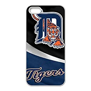 Detroit Tigers Fashion Comstom Plastic case cover For Iphone 5s