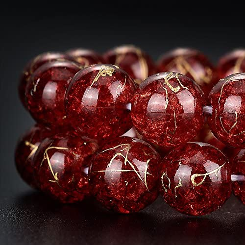 12mm ❤ ❤ Glass Beads ~ Crackle Jade ❤ Sizes 6mm