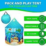 USA Toyz Mermaid Kids Tent - Under Sea Kids Play