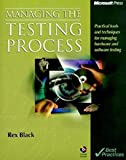 img - for Managing the Testing Process by Rex Black (1999-06-01) book / textbook / text book