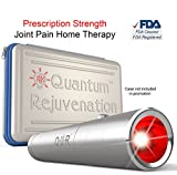 Quantum Rejuvenation Red Light Therapy Device - FDA Cleared Advanced Pain Relief - Joint & Muscle Reliever - Medical Grade