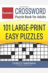 Funster Crossword Puzzle Book for Adults: 101 Large-Print Easy Puzzles Paperback