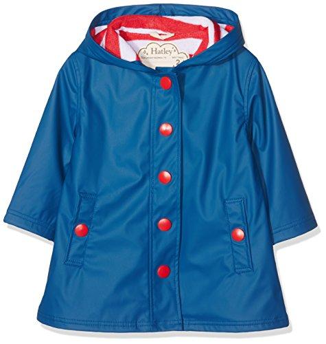Hatley Girls' Little Splash Jackets, Navy, 2