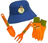 Nickelodeon Diego 4 Piece Kids Garden Glove and Accessory Combo Pack, DO7P04, Size: Kids