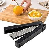 Goodia 400/600Grit Knife Sharpeners Folding Pocket Diamond Stone, Knife Scissors Sharpener Maintaining Kitchen,Sport Knives,Kitchen Shears For Outdoor Camping