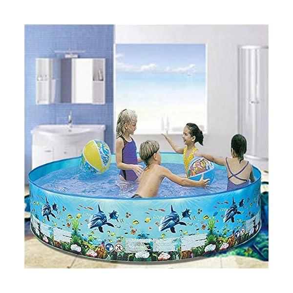 Yankuoo Piscina gonfiabile di grandi dimensioni per adulti e bambini piscina piscina piscina all'aperto coperta vasca… 5 spesavip