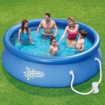 Summer Escapes 10' Quick Set Swimming Pool