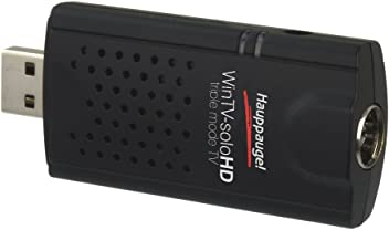 Hauppauge WinTV-SoloHD TV Tuner, Nero/Antracite