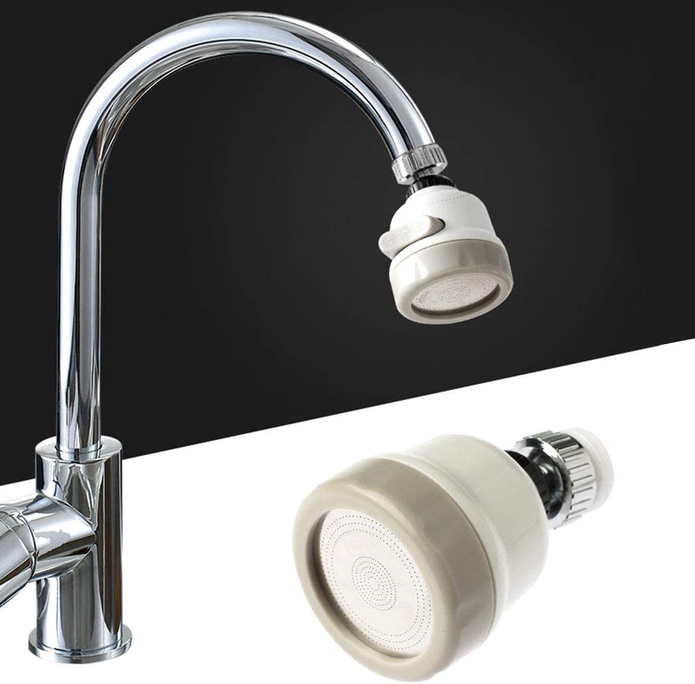 NEW Booster Shower Kitchen Water Filter Tap Head 360°Rotating Faucet Nozzle Nice