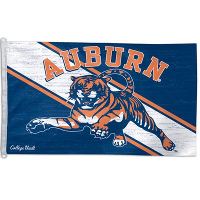 NCAA College Vault Auburn Tigers 3-by-5 Foot Flag