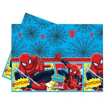 Amscan Ultimate Spiderman Table Cover Party Accessory