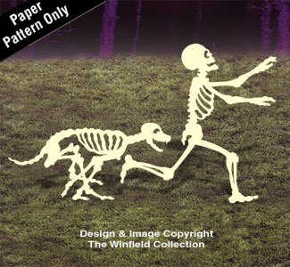 Skeleton Chase Woodcrafting Pattern -