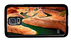 Hipster new Samsung Galaxy S5 Cases Glen Canyon Utah PC Black for Samsung S5