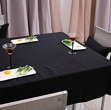 Asvert Nappe de Table Rectangulaire en Polyester Nappe à Armure ...