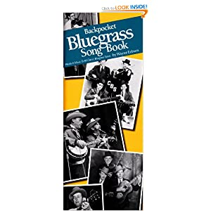 Backpocket Bluegrass Song Book Wayne Erbsen