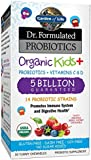 Garden of Life Dr. Formulated Probiotics Organic Kids Plus Chewable Tablet, 30 Count